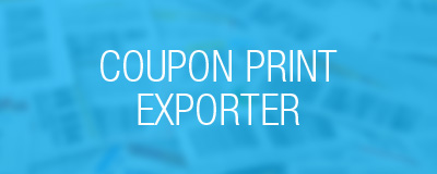 coupon print exporter