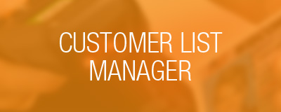 customer list manager