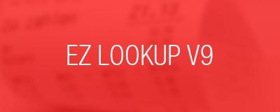 ez lookup v9