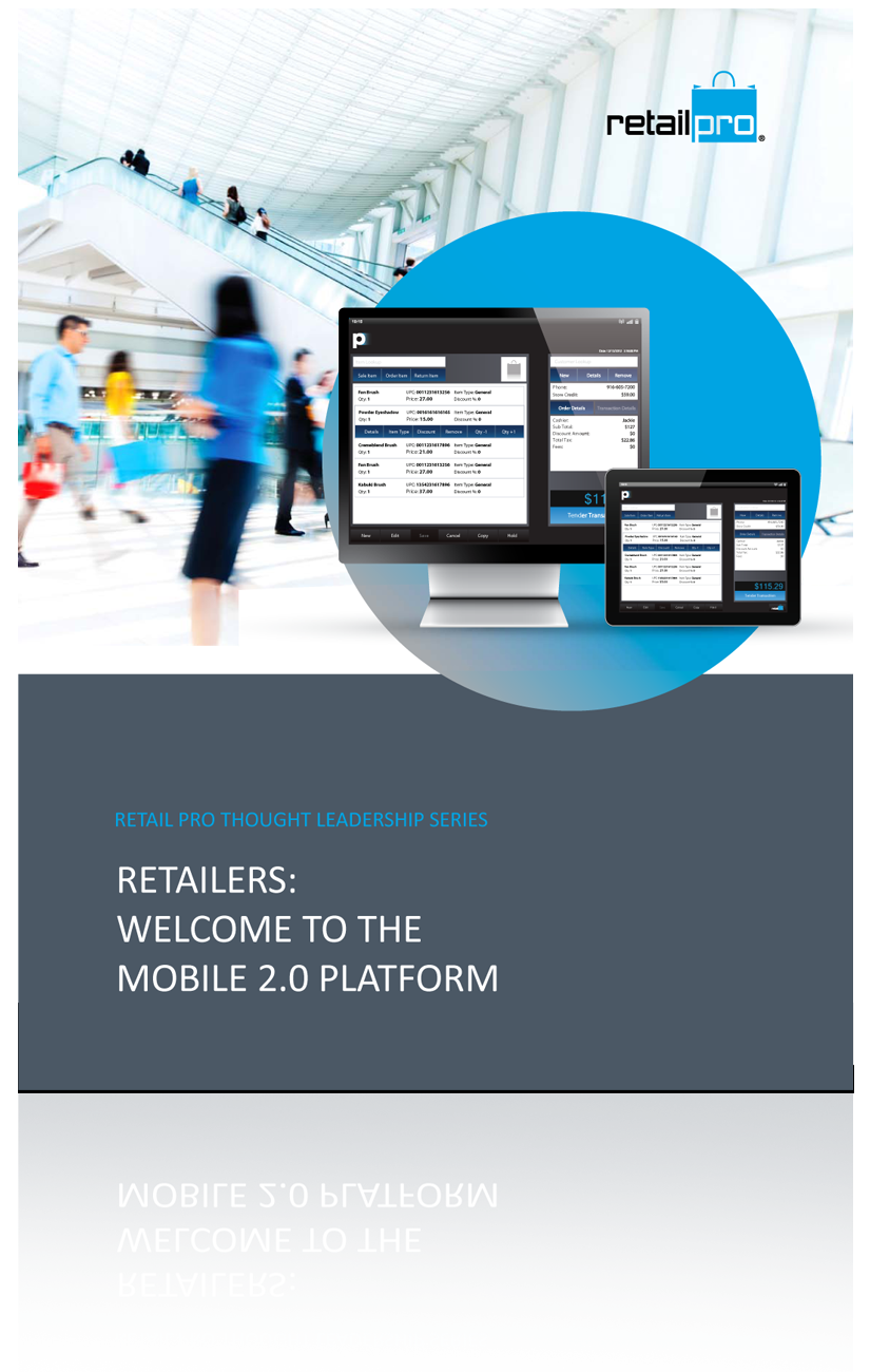 retail pro welcome to the mobile 2.0 platform whitepaper