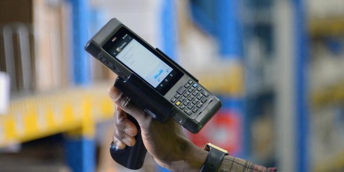 RFID Handheld scanner by RIS