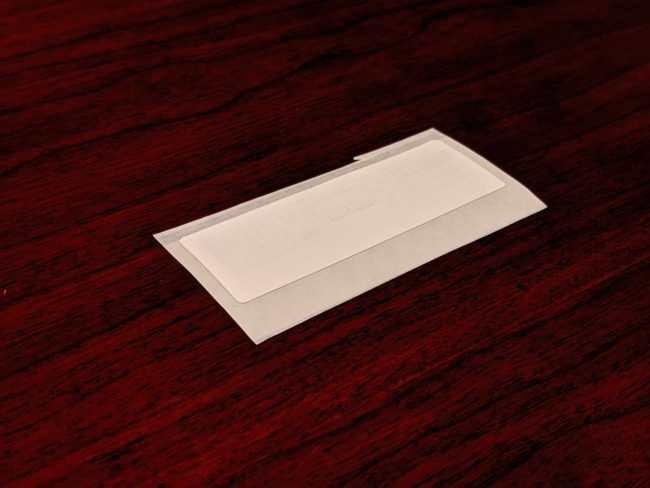 RFID Adhesive Tag from RIS